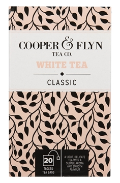 Picture of Cooper & Flyn White Tea Teabags Pack 20s