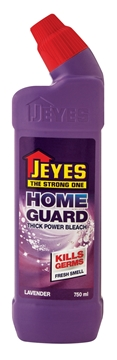 Picture of Jeyes Homeguard Lavender Thick Bleach Bottle 750ml