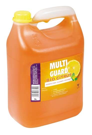 Picture of Multiguard Citrus Disinfect Deodoriser Bottle 5l