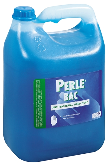 Picture of Perle Bac Blue Antibacterial Liquid Hand Soap 5l