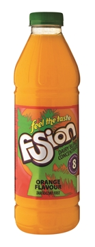 Picture of Fusion Dairy Blend Orange Concentrate Bottle 1l