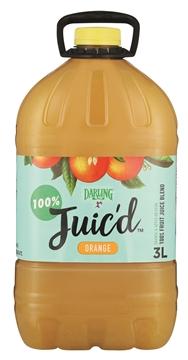 Picture of Darling 100% Fresh Orange Juice Bottle 3l