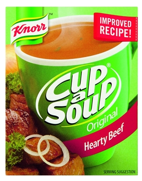 Picture of Knorr Cup-A-Soup Original Hearty Beef 4 Pack