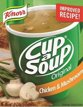 Picture of Knorr Cup-A-Soup Chicken & Mushroom 4 Pack