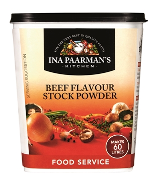 Picture of Ina Paarman Powder Beef Stock Granules Tub 1kg