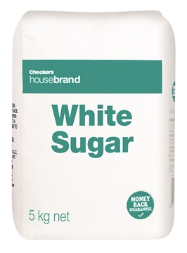 Picture of Checkers Housebrand White Sugar 5kg
