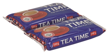 Picture of Tea Time Black Teabag Pack 100s