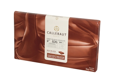Picture of Callebaut Couverture Milk Chocolate Slab 5kg