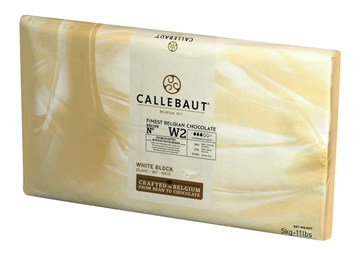 Picture of Callebaut Couverture White Chocolate Slab 5kg