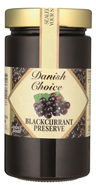 Picture of Danish Choice Blackcurrant Jam Jar 454g