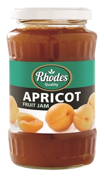 Picture of Rhodes Apricot Smooth Jam Jar 460g