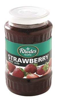 Picture of Rhodes Strawberry Jam Jar 460g