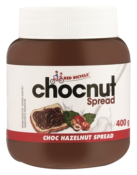 Picture of Red Bicycle Hazelnut Chocolate Spread 400g