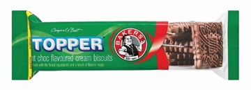 Picture of Bakers Chocolate Mint Topper Biscuits Pack 125g