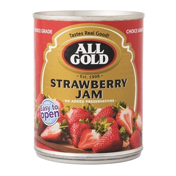 Picture of All Gold Strawberry Jam 450g