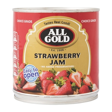 Picture of All Gold Strawberry Jam Can 900g