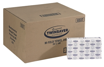 Picture of Twinsaver M/Fold Hand Towel 2 Ply 20 x 100s