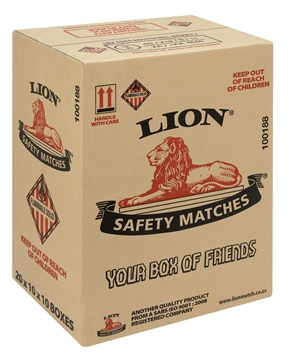 Picture of Lion Single Matches Pack 10 x 1s