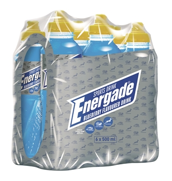 Picture of Energade Blueberry Sportdrink Pack 6 x 500ml