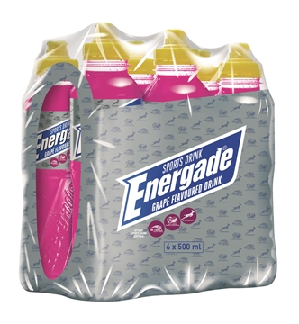 Picture of Energade Grape Sportdrink Pack 6 x 500ml