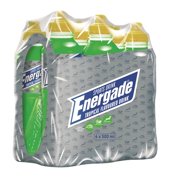 Picture of Energade Tropical Sportdrink Pack 6 x 500ml