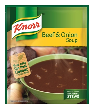 Picture of Knorr Beef & Onion Soup Packet Pack 10 x 50g