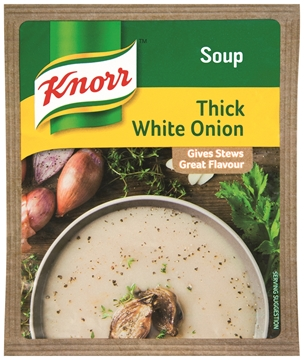 Picture of Knorr Thick White Onion Soup Packet Pack 10 x 50g