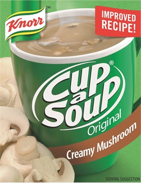 Picture of Knorr Cup-A-Soup Creamy Mushroom Pack 4s