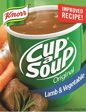Picture of Knorr Regular Lamb & Vegetable Cup A Soup Pack 4s