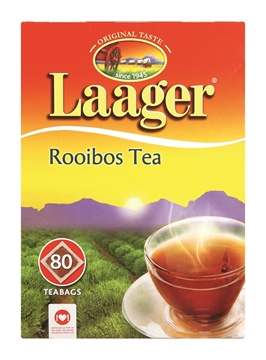 Picture of Laager Rooibos Tagless Teabags Pack 80s