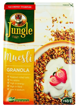 Picture of Jungle Granola Muesli Cereal Pack 750g
