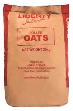 Picture of Liberty Quick Cooker Oats Porridge Bag 25kg
