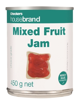 Picture of Checkers Housebrand Mixed Fruit Jam Can 450g
