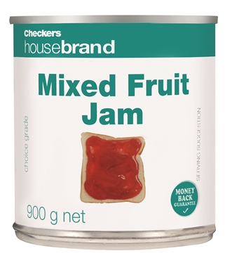 Picture of Checkers Housebrand Mixed Fruit Jam Can 900g