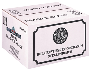 Picture of Hillcrest Strawberry Jam Portions 120 x 30g
