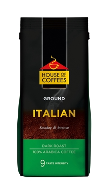 Picture of House of Coffees Italian Coffee Beans Pack 250g