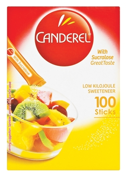 Picture of Canderel Yellow Sweetener Sticks Box 1000s