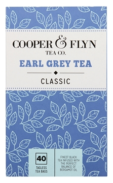 Picture of Cooper & Flyn Earl Grey Tagless Teabags Pack 40s