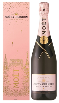 Picture of Moet & Chandon Imperial Rose Brut Champagne 750ml