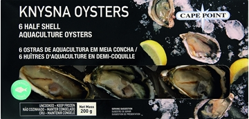 Picture of Cape Point Frozen Oysters Pack 6