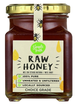 Picture of Simple Truth Raw Honey Bottle 370g