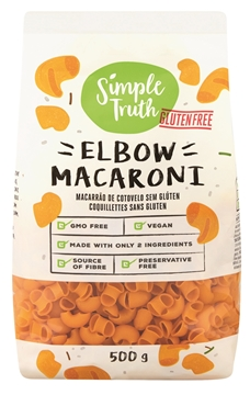 Picture of Simple Truth Gluten Free Mac Elbow Pasta Pack 500g