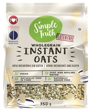 Picture of Simple Truth Instant Oats Porridge Pack 350g