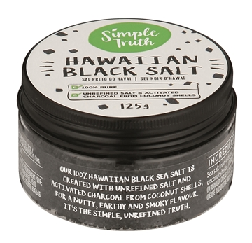 Picture of Simple Truth Black Hawaiian Salt Jar 125g