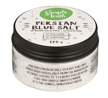 Picture of SALT PERSIAN BLUE SIMPLE TRUTH 125G JAR
