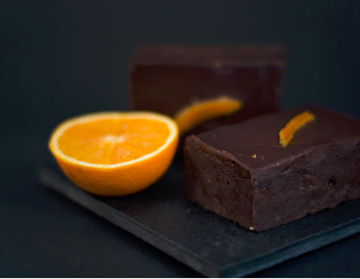 Picture of FRZ BROWNIE CHOCOLATE ORANGE YUMMI 20X120G BOX