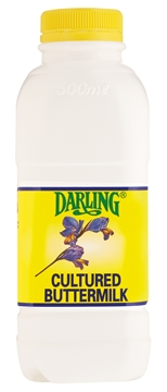 Picture of Darling Cultured Buttermilk Bottle 500ml