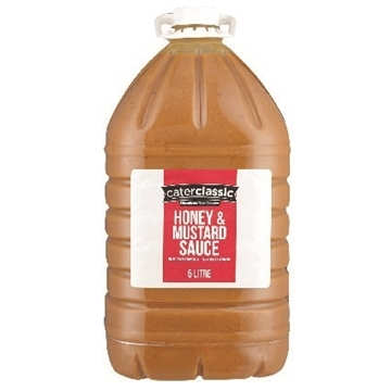 Picture of Caterclassic Honey & Mustard Sauce Bottle 5l