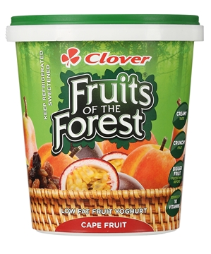 Picture of Clover Fruits Of The Forest Cape Fruit Yoghurt 1kg