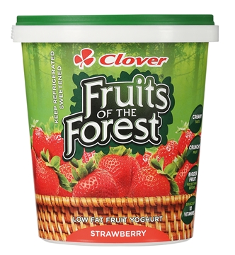 Picture of Clover Strawberry Low Fat Yoghurt 1kg
